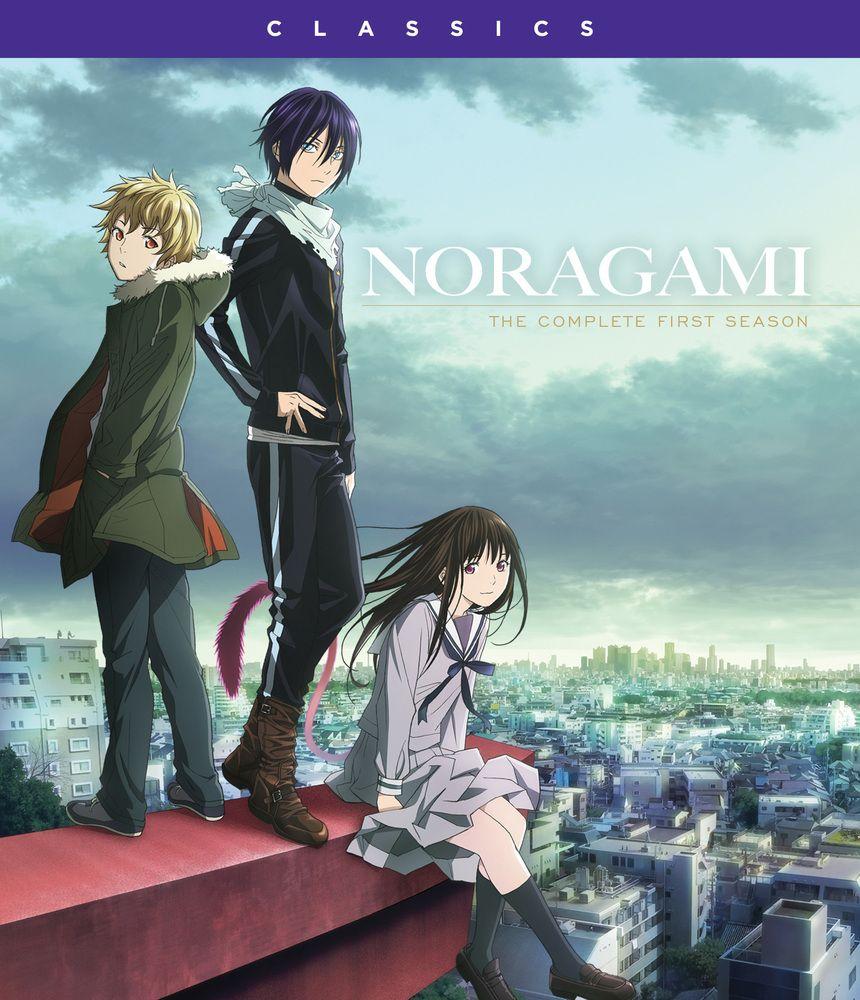 Noragami The Complete First Season Blu Ray Noragami Recomendaciones De Anime Anime Manga