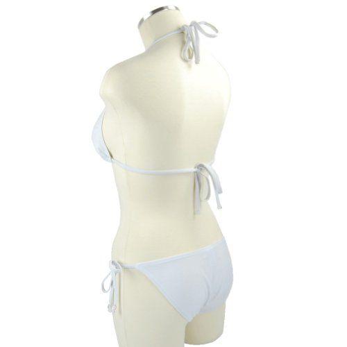 $26 2 Pc Bikini Set Triangle Top & Bikini BottomFrom Marina West $26