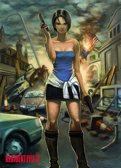 Jill Valentine Resident Evil 3 Cuson Deviantart Com