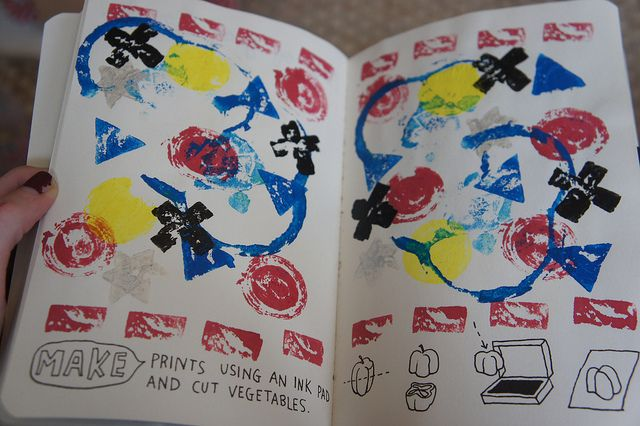 Journal Pages by e-elise152, via Flickr