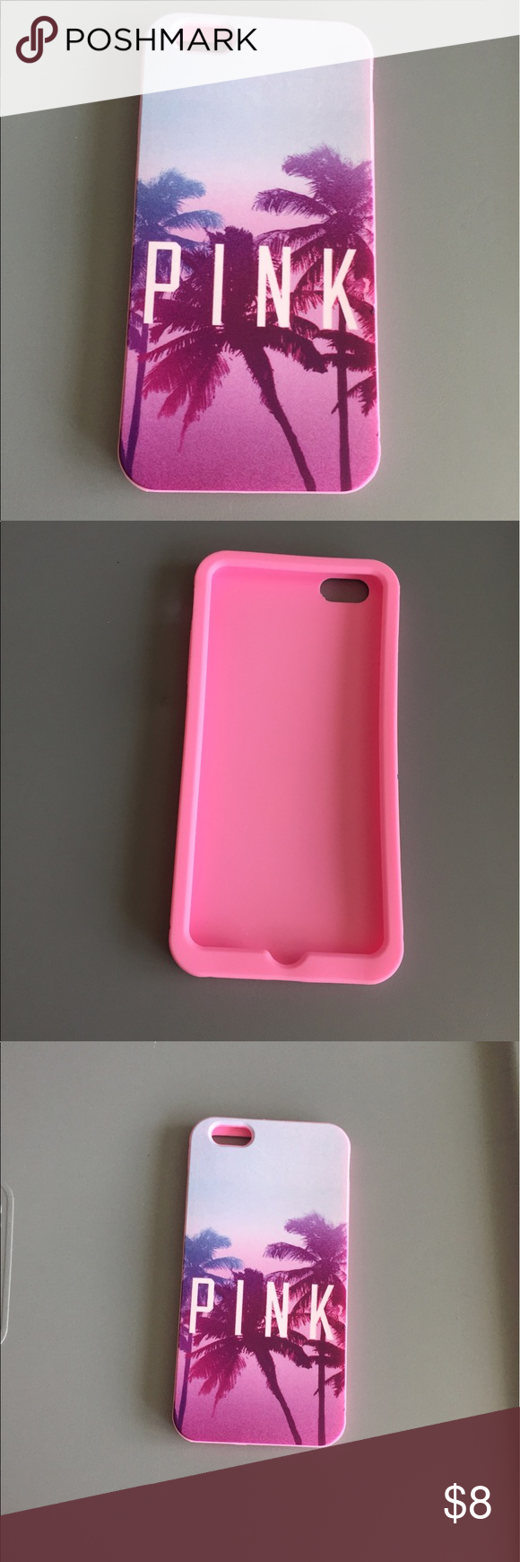 iPhone 6 Plus/6s Plus Victoria's Secret pink case   Pink phone ...