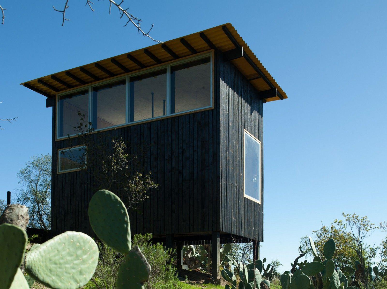 Charred Cabin by Del Rio Arquitectos Asociados - Chile