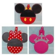 Disney Luggage Tags All Things Disney Pinterest Disney Luggage
