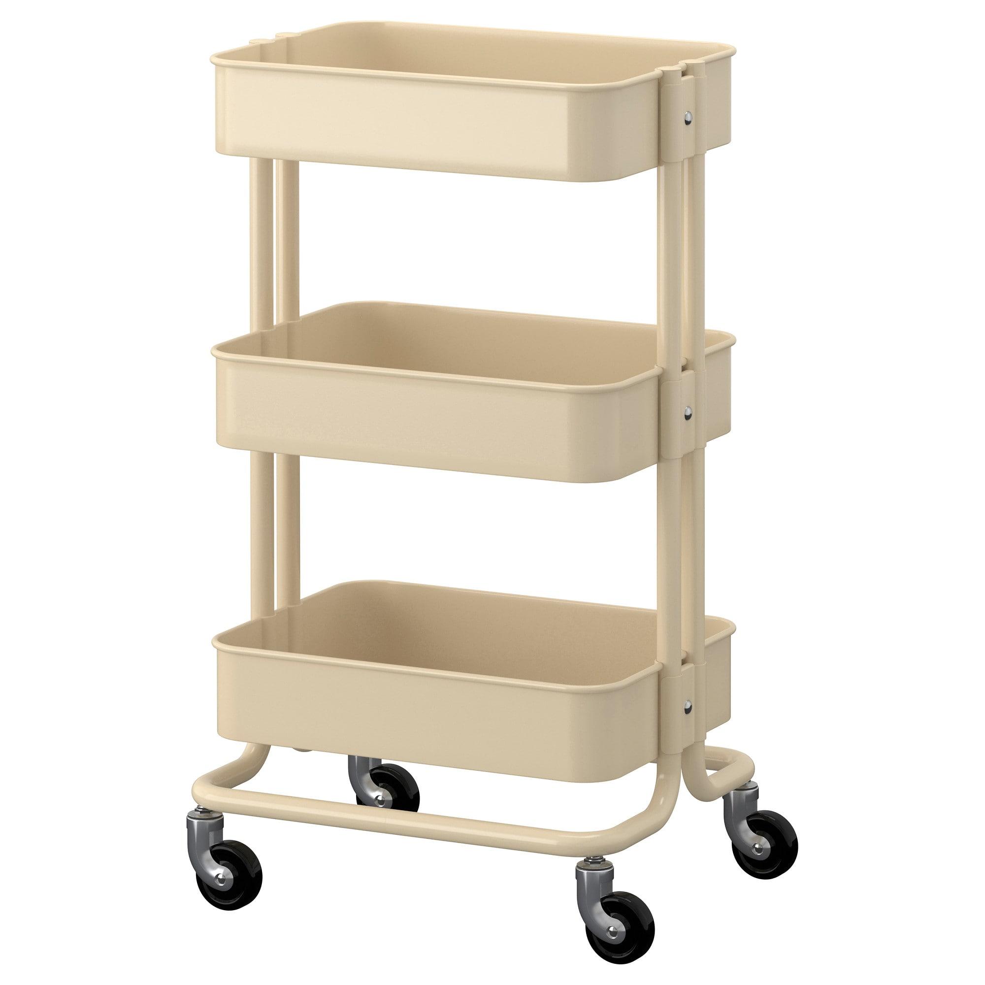 RÅskog Utility Cart Ikea For Nursing Side Table Or Next To Changing