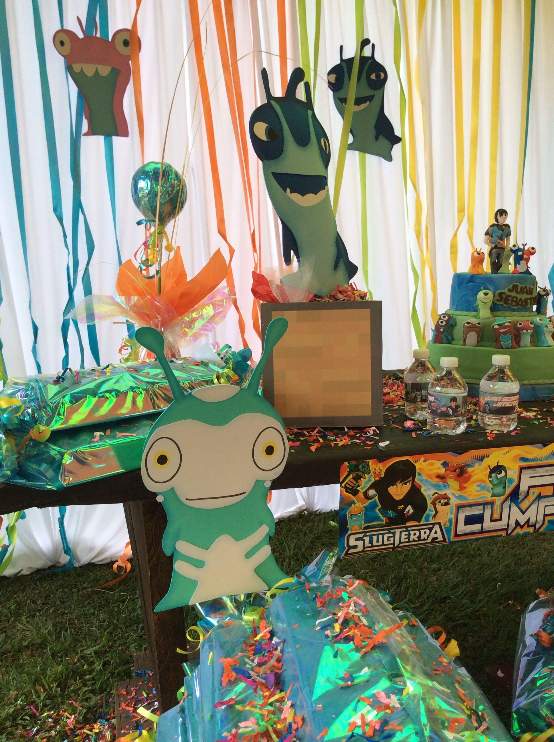 Slugterra party ideas bajoterra fiesta para ni os - Ideas de cumpleanos para ninos ...