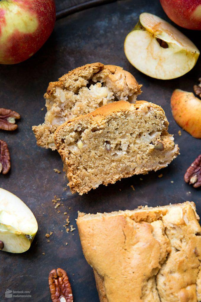 Für den Herbst: Süßes Apfel-Pekannuss-Brot #herbstbacken