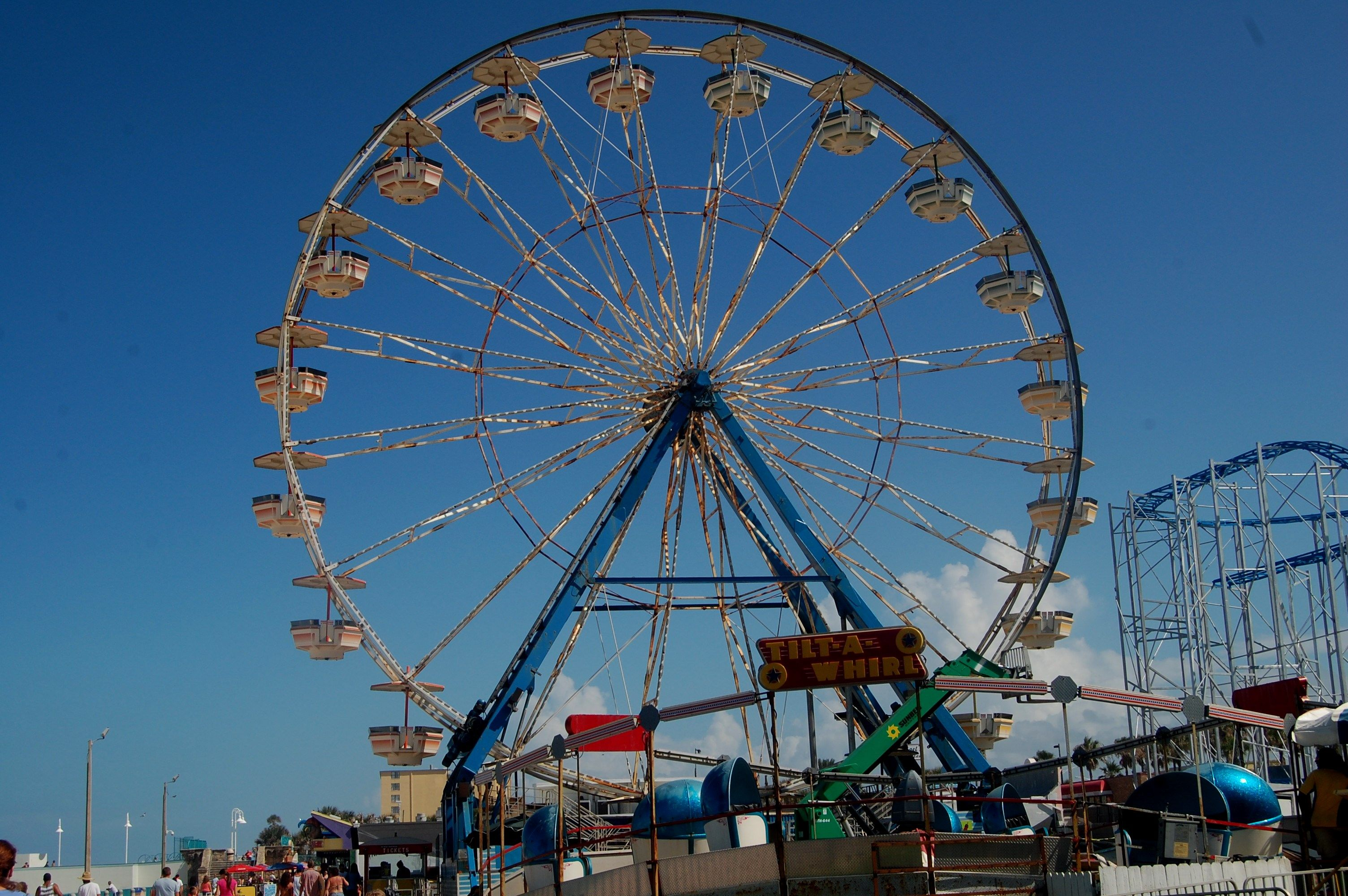 Ferris Wheel Daytona Beach Pier Fl