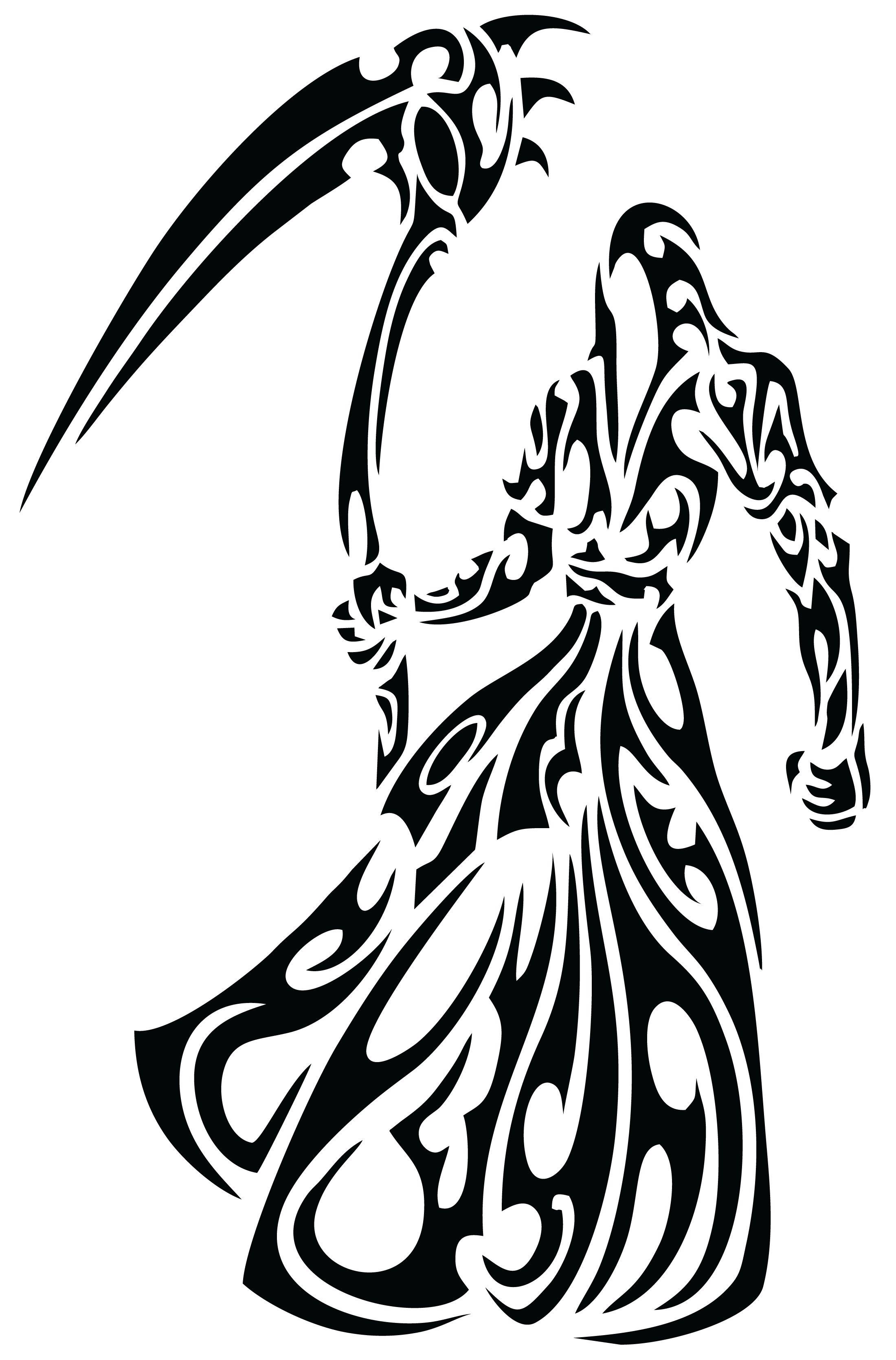 Tribal Santa Tatoo: Pin De Carlos De Alba En Tatuajes