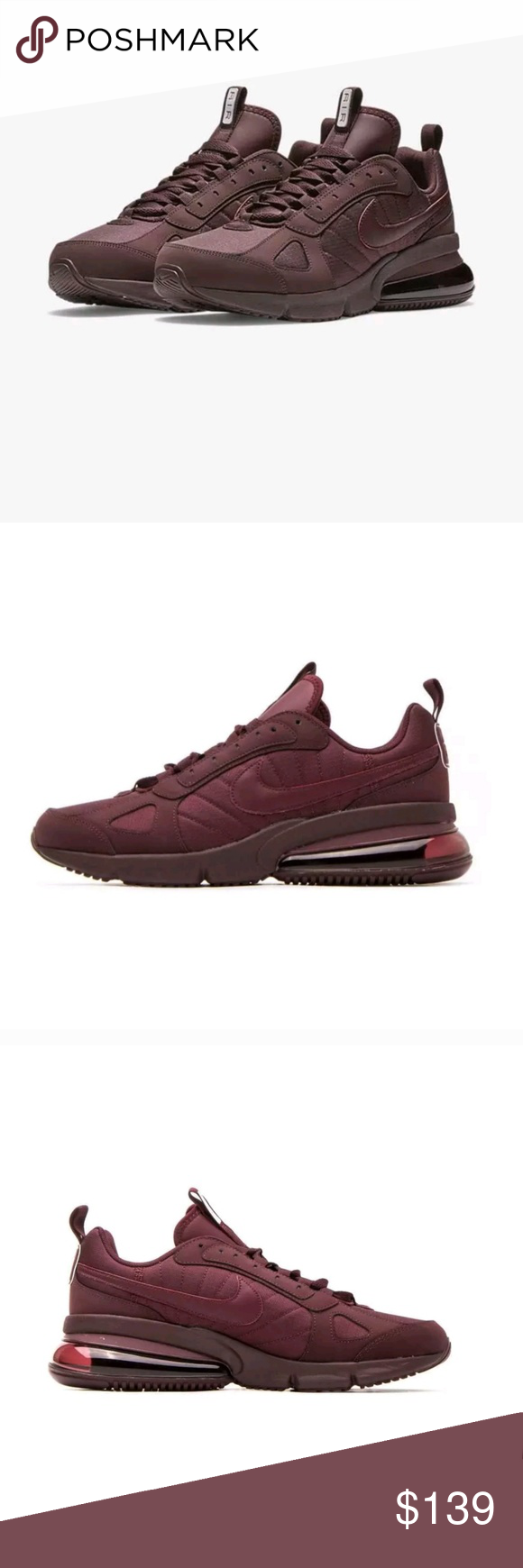 Nike Air Max 270 Futura Burgundy Crush New in box Nike Air