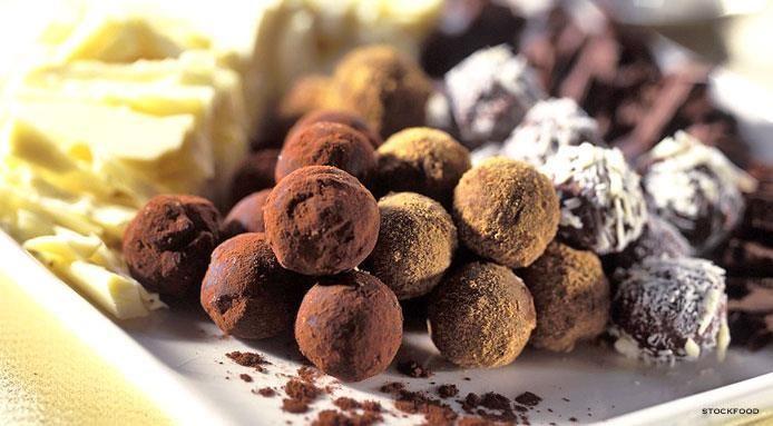 Truffes au chocolat blanc et fondant #truffesauchocolat