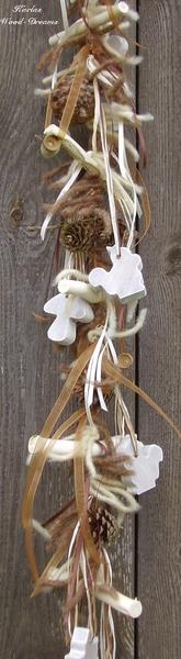 """Fensterschmuck - Fensterschmuck """"Wood life"""", braun, Natur, KC18 - ein Designerstück von Karlas-Wood-Dreams bei DaWanda"""