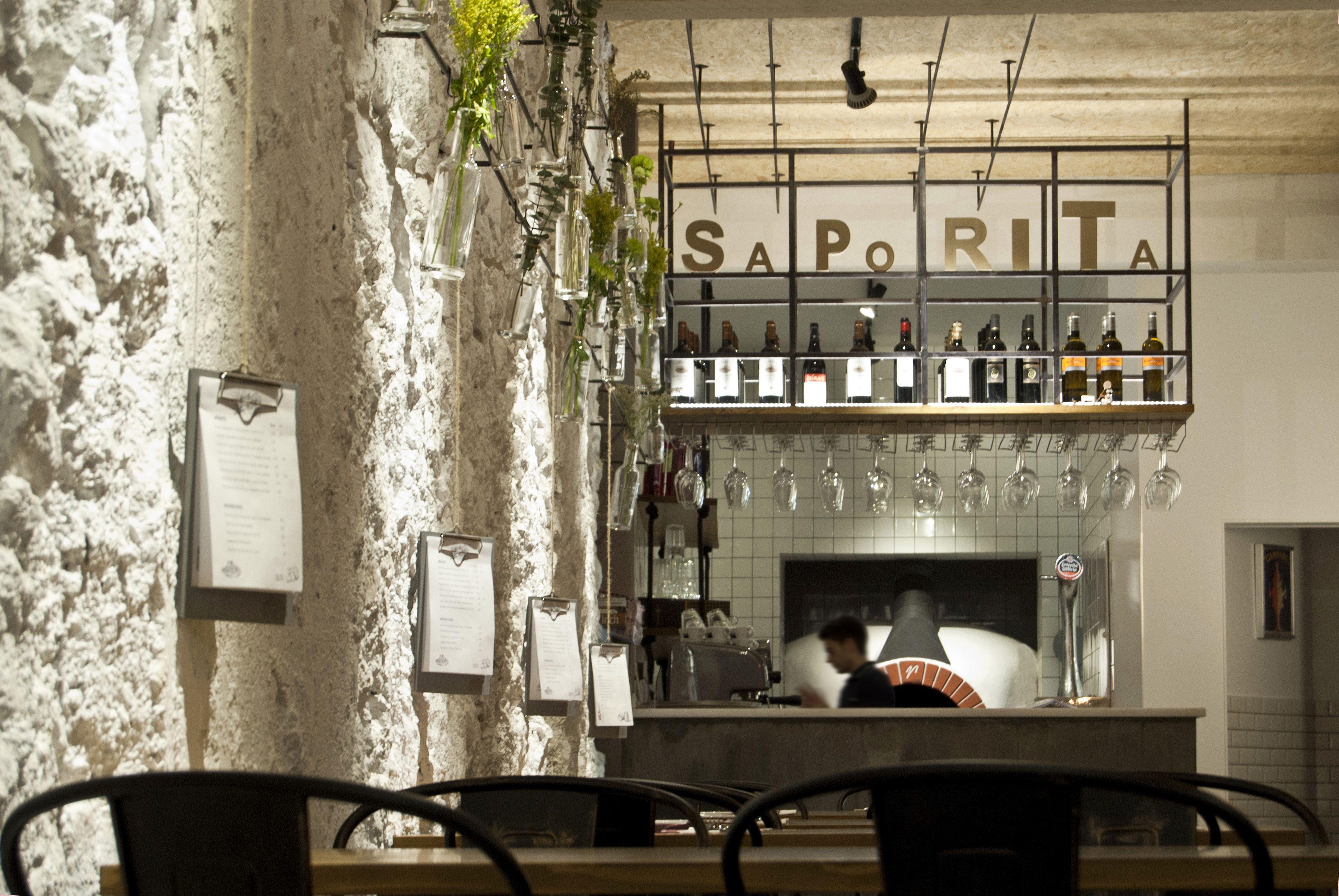 Pizzeria La Saporita_ Dise O De Interiorismo Y Mobiliario Por Mas  # Muebles Pizzeria