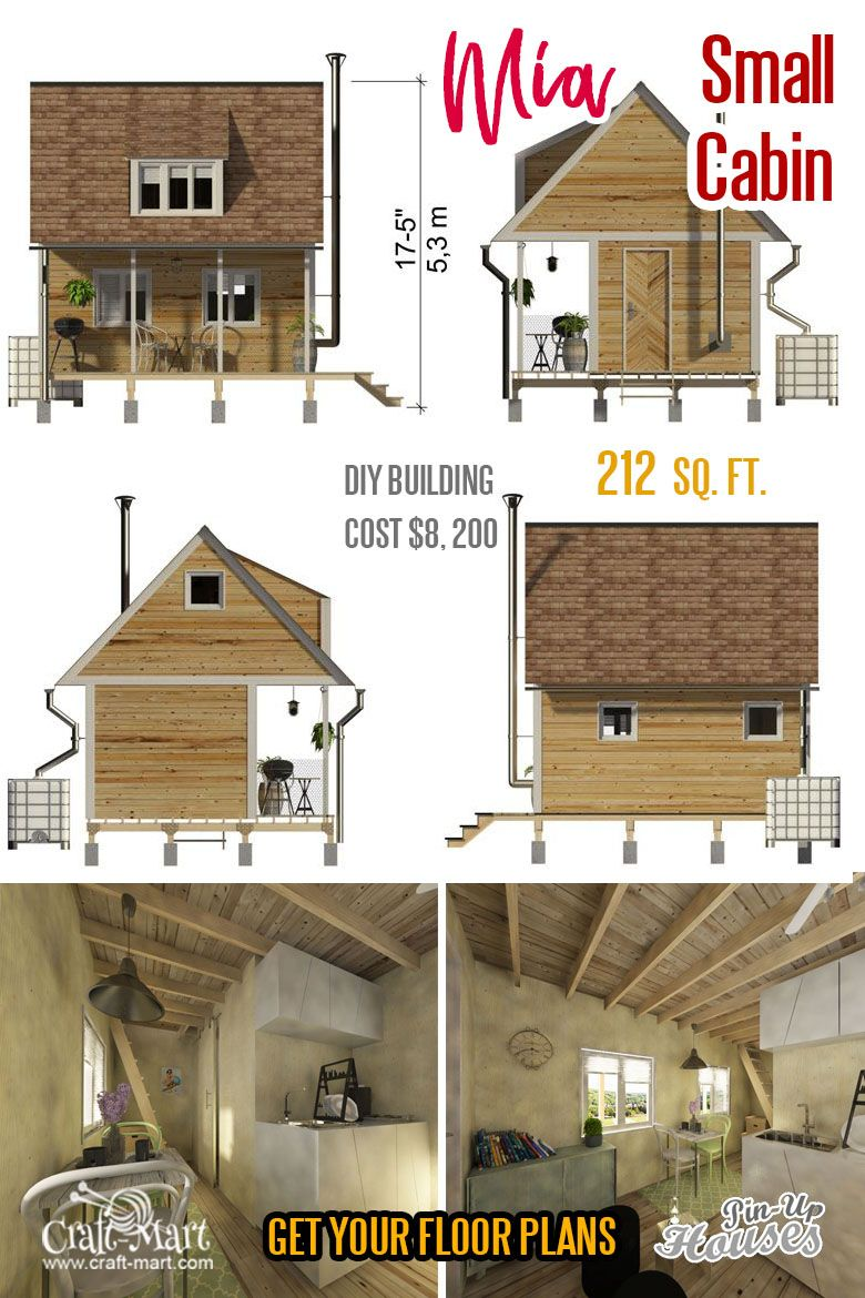 Small Unique House Plans A Frames Small Cabins Sheds Craft Mart Tiny Cabin Plans Cabin Plans With Loft Small Cabin Plans