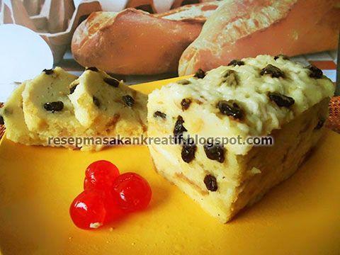 Resep Puding Roti Tawar Kukus Puding Roti Makanan Enak Makanan Ringan Manis