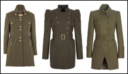 78 Best images about Military Style Coat/Jacket Inspirations on