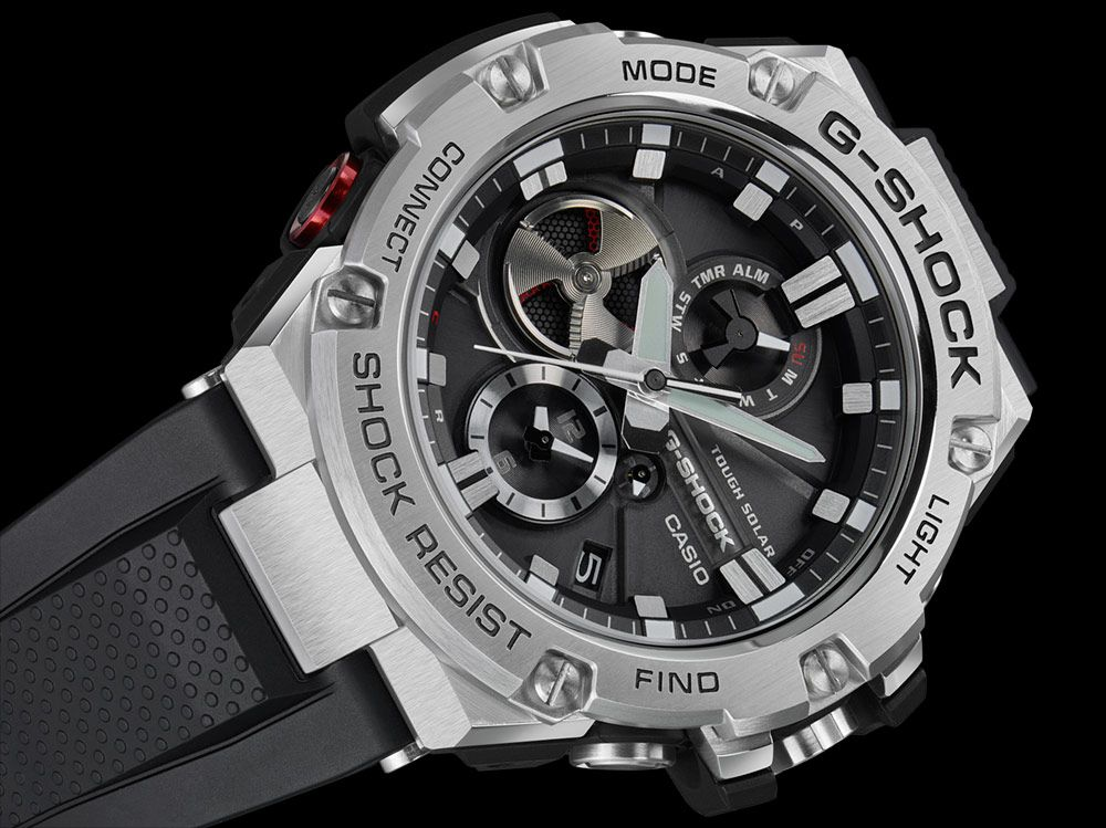 fe635976fcde The new Casio G-Shock G-Steel