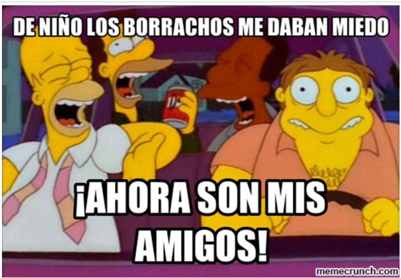 Mis Amigos Los Borrachos Memes Borrachos Borrachos Frases Hilarantes Memes Divertidos