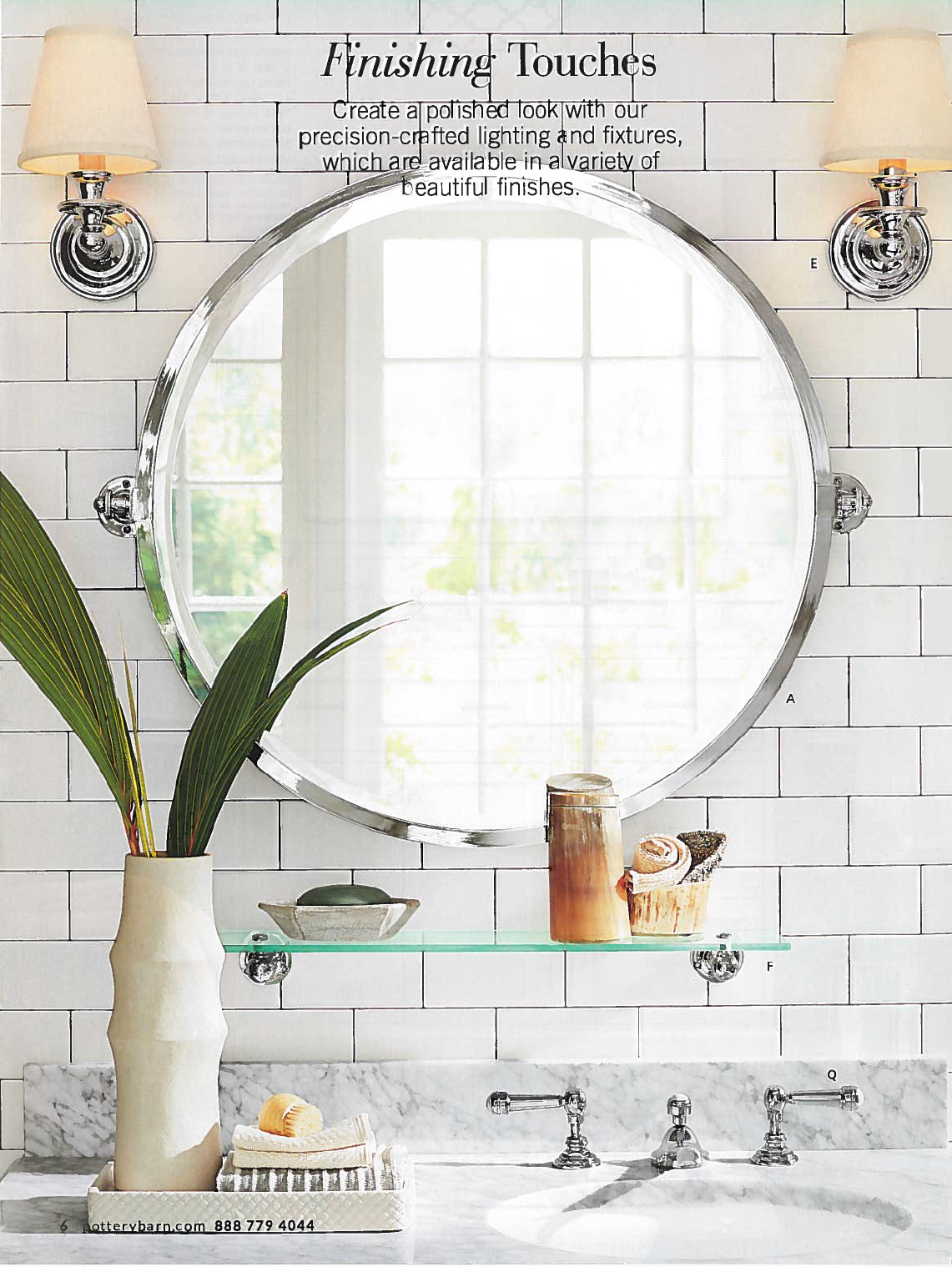 Kensington Round Pivot Mirror Pivot Bathroom Mirror