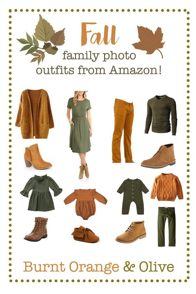 Fall family picture outfits from Amazon | Affordable Photography Props