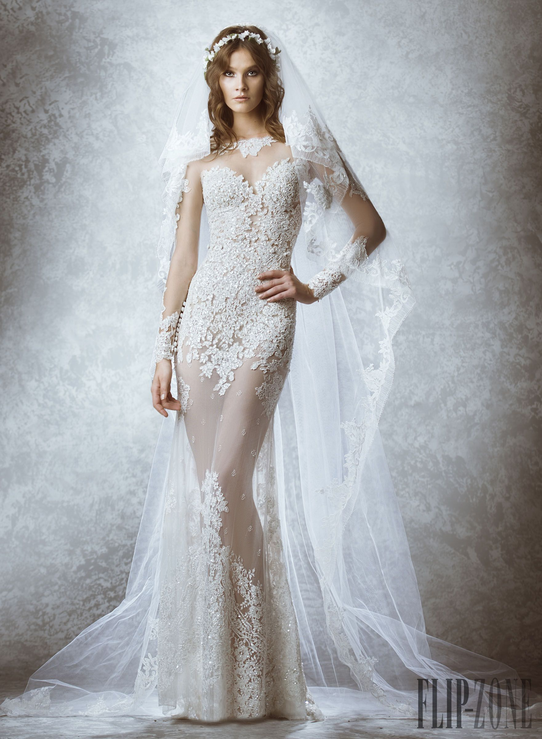 Zuhair Murad Fall-winter 2015 - Bridal - http://www.flip-zone.com ...