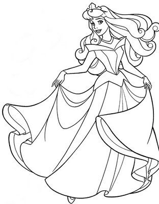 here she is princess bebe aurora princess coloring pages gabrielle martinez - For Colouring Picture