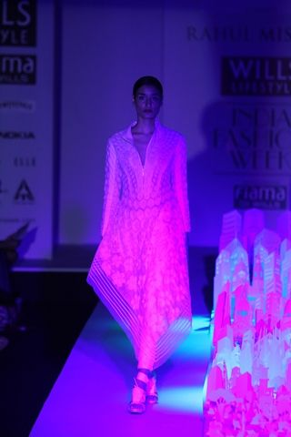 Rahul Mishra. WLFW A/W 14'. Indian Couture.