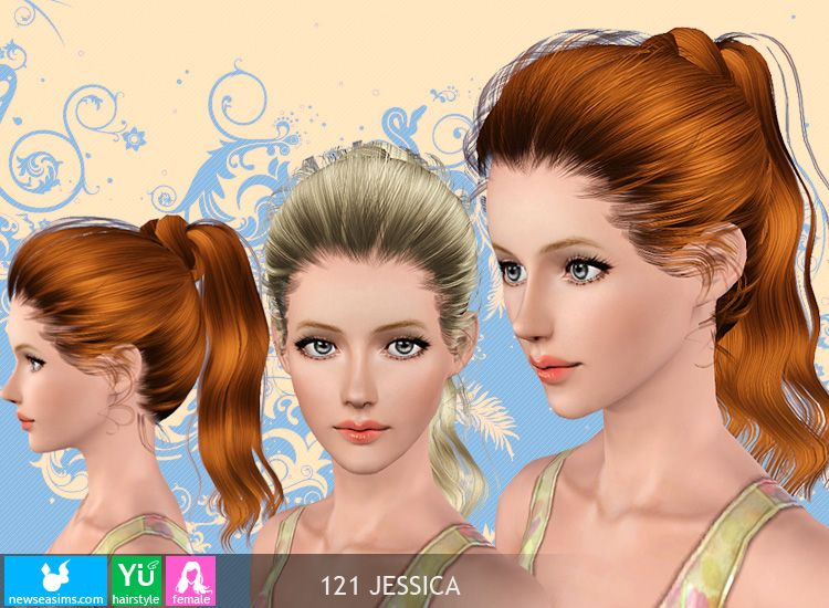 Emma S Simposium Free Hair Pack 212 By Newsea Donated Gifted To Us High Ponytail Hairstyles Womens Hairstyles Hair Pack