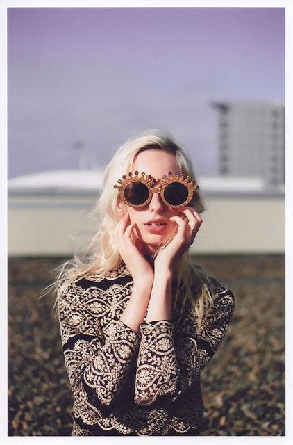TEDDY JACKET AND DOLCE GABANA GLASSES – CHANGEABLE STYLE