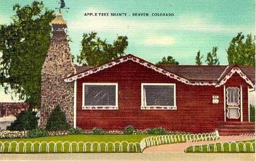 The Old Apple Tree Shanty Denver Colorado Apple Tree Colorado