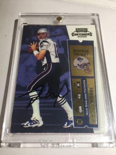 #Trending01 - 2000 Tom Brady Playoff Contenders Rookie Ticket Auto RC #144 MVP 24 Hour Read http://ift.tt/2kMdnEa https://t.co/F6gFhNuJI0