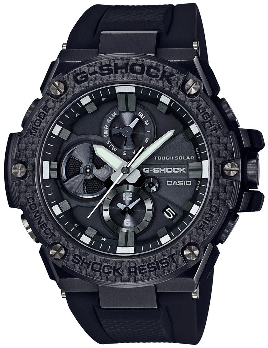 84ee0e10998e Casio G-Shock G-Steel  Tough Chronograph  GST-B100 Series Bluetooth  Connected Watches Watch Releases