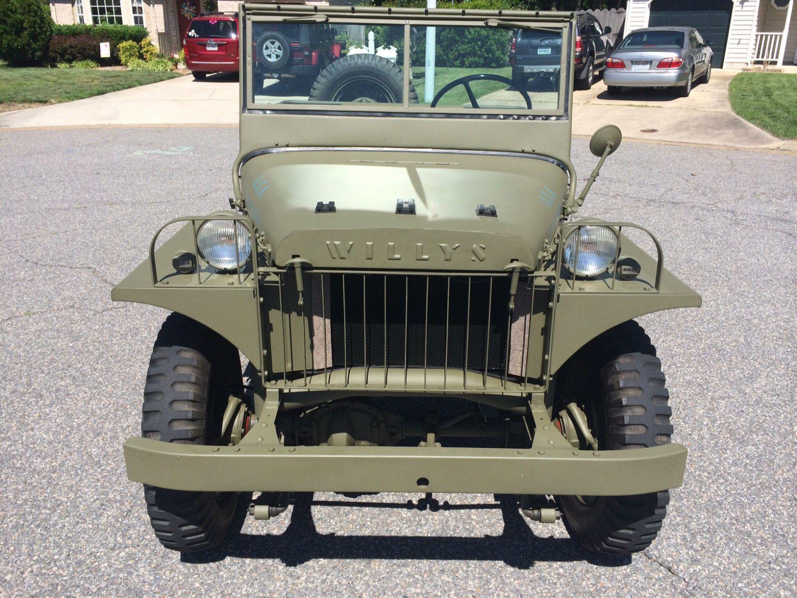 Willys ma ww2 prototype military jeep ma ww2 prototype military jeep