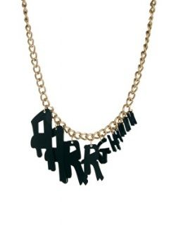 "Tatty Devine ""Aarrghhhh"" Necklace"