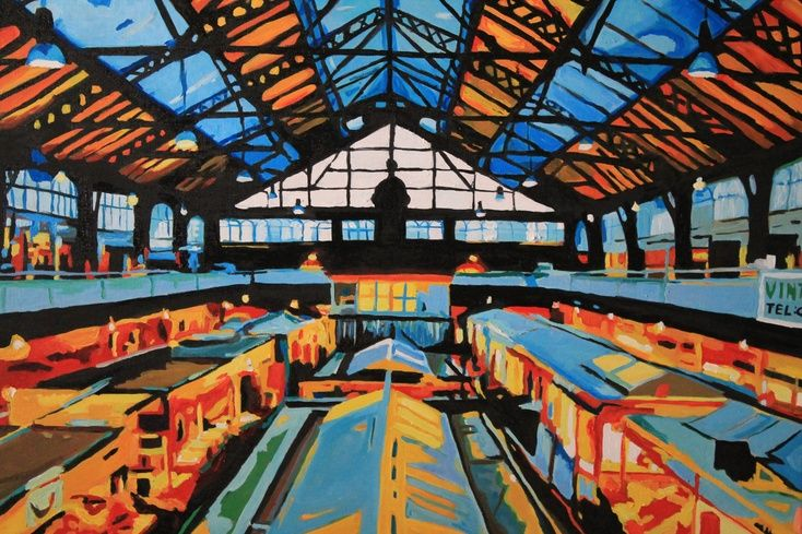 Cardiff Indoor Market by Emma Cownie