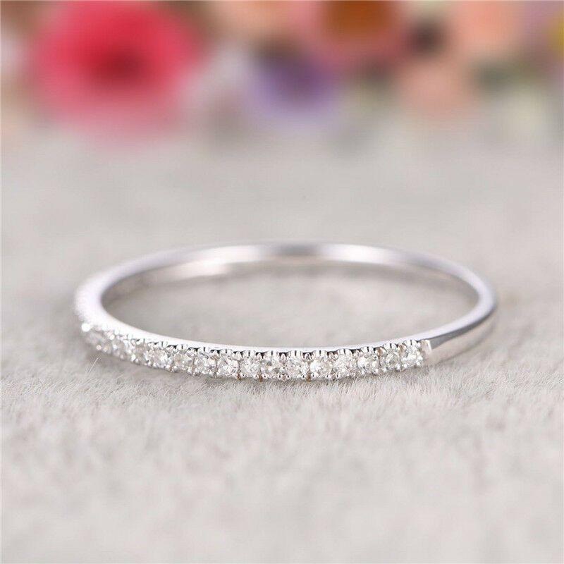 Exquisiter Extra Schmaler 925 Sterling Silber Damen Ring In 2020 Silberring Damen Silber Und Damen Ring