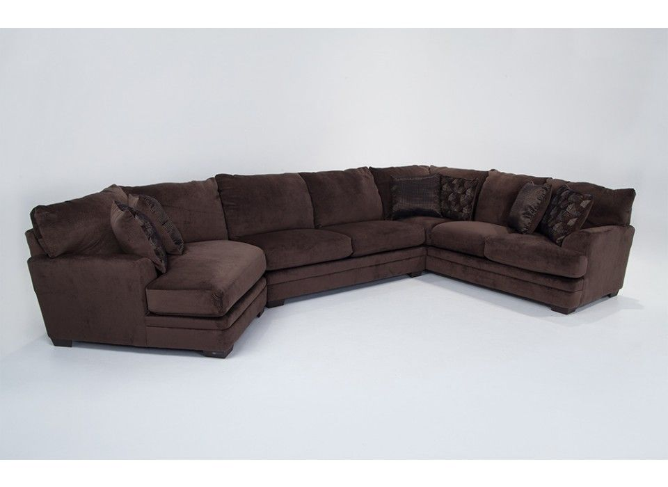Best Charisma 3 Piece Sectional With Left Arm Facing Cuddler 400 x 300