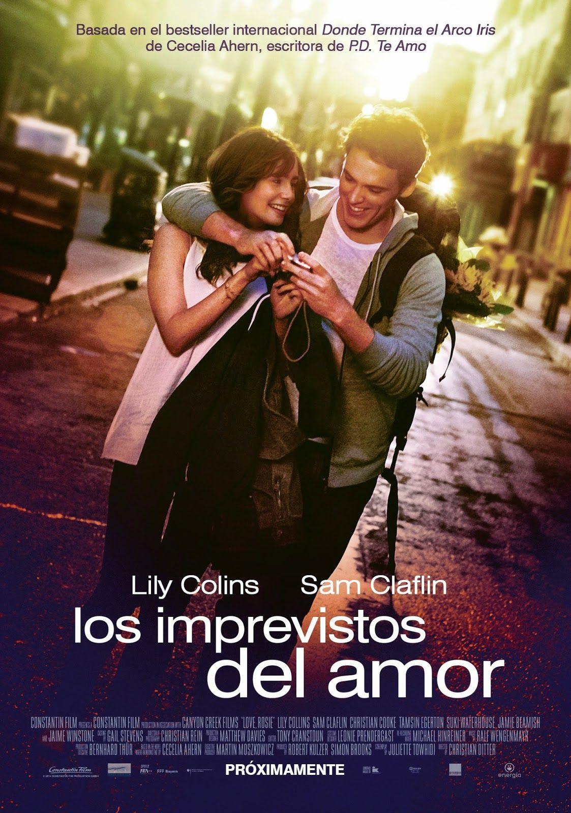 Los imprevistos del amor (2014) Rosie y Alex son los mejores amigos del  mundo, pero se separan cuando Alex y su familia se mudan desde Dublín a  América.