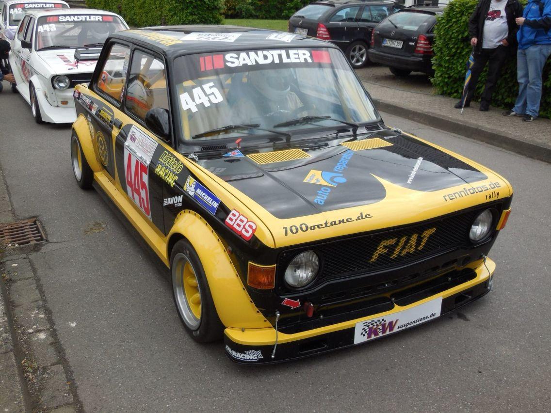 Fiat 131 Fia Hill Climb Fiat 128 Fiat Motor Car