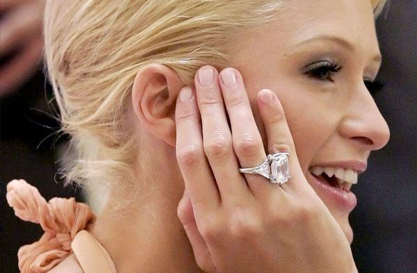 3 Paris Hilton S Engagement Ring With Images Celebrity