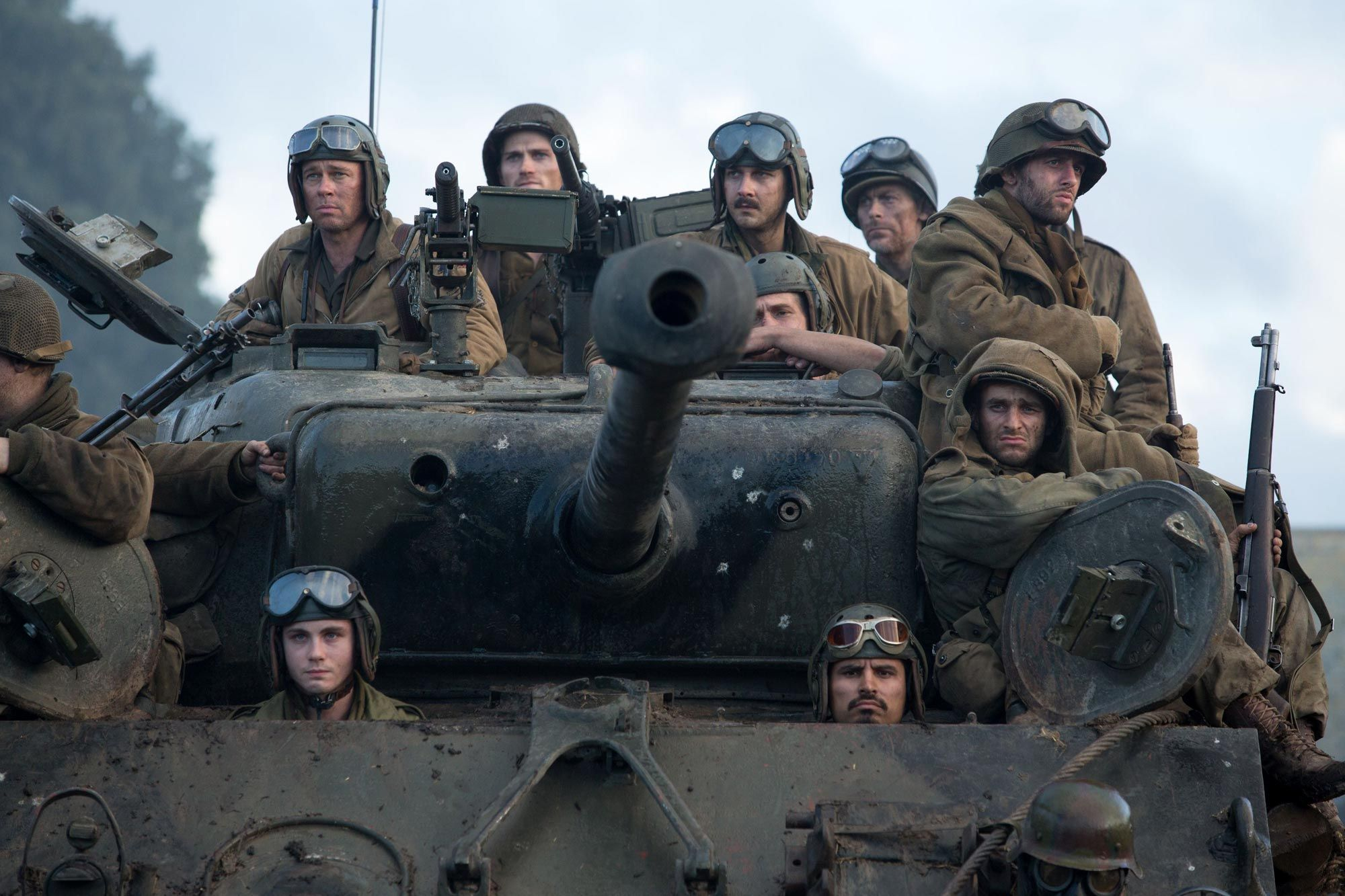 "Sherman Tank from the movie ""Fury"