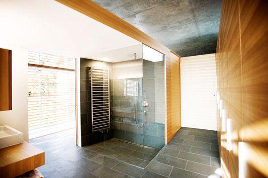 anbau eines wohnhauses in deutsch kaltenbrunn - bad und sanitär, Wohnzimmer dekoo