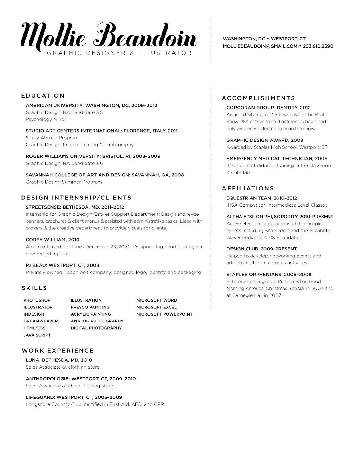 Photographer Resume Template 2019 Photographer Word Free