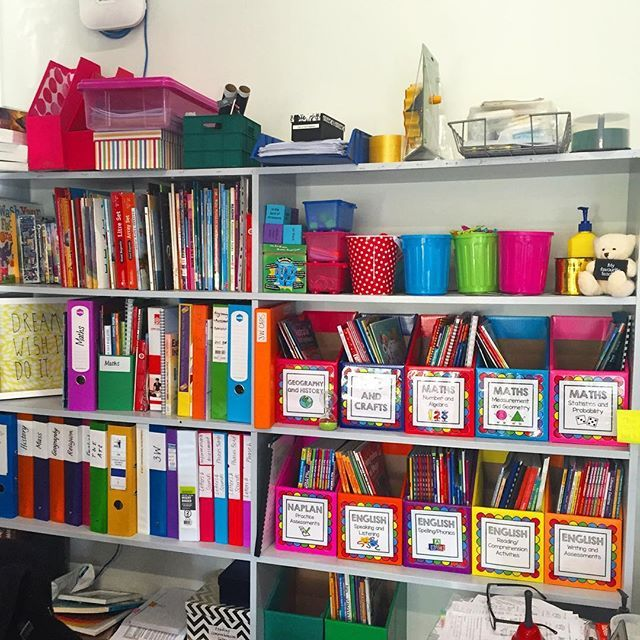 The chaos that is the bookcase behind my desk 😳😂 No matter how hard I try, this seems to be as neat as it gets! #teachersfollowteachers #teachersofinstagram #teachersofig #teacherlife #teacher #aussieteachers #aussieteachersofinstagram #primaryteacher #perthteacher #iteachthird #yearthree #classroomorganisation