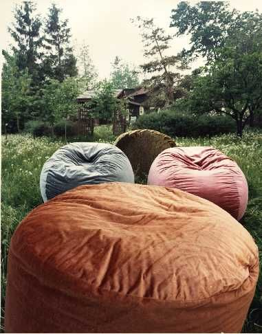 curved space bean bags and chairs also high density foam furniture