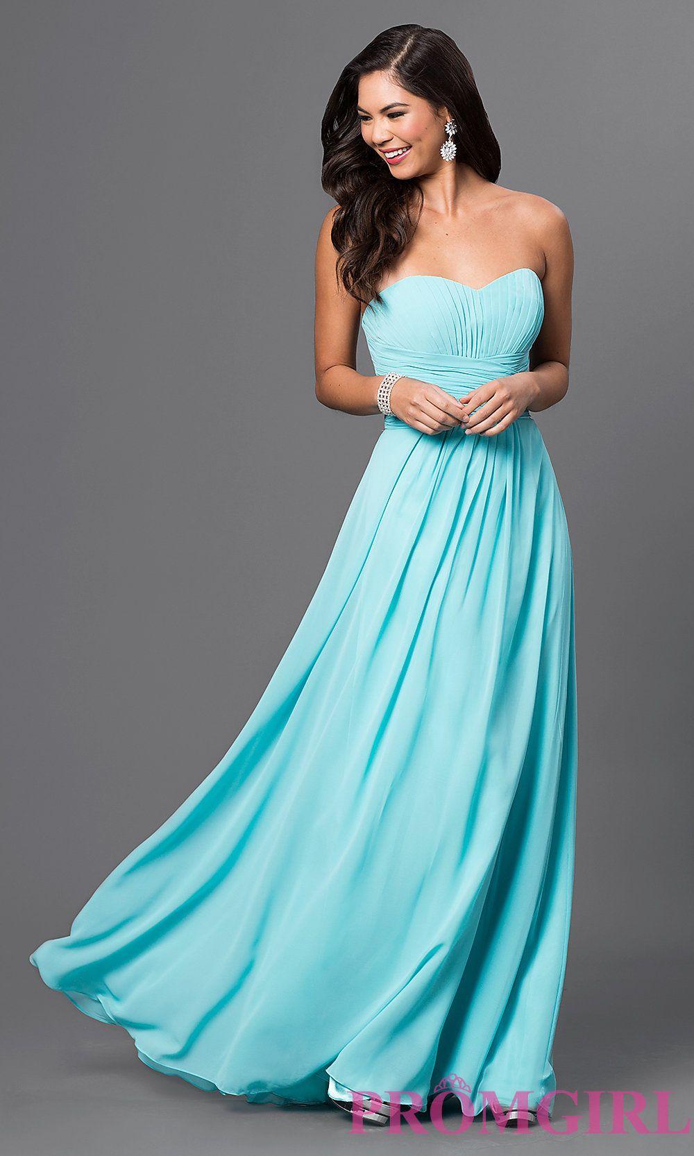 Long Strapless Chiffon Prom Dress With Corset Bridesmaid Dresses Plus Size Strapless Dress Formal Strapless Evening Dress [ 1666 x 1000 Pixel ]