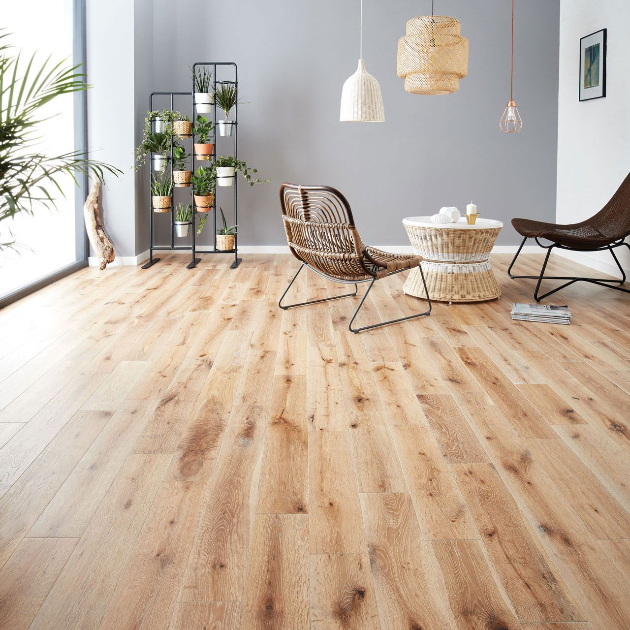 Image result for narrow white oak flooring Solid wood