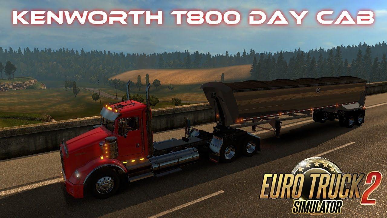 Euro truck simulator 2 kenworth t800 jam session 5