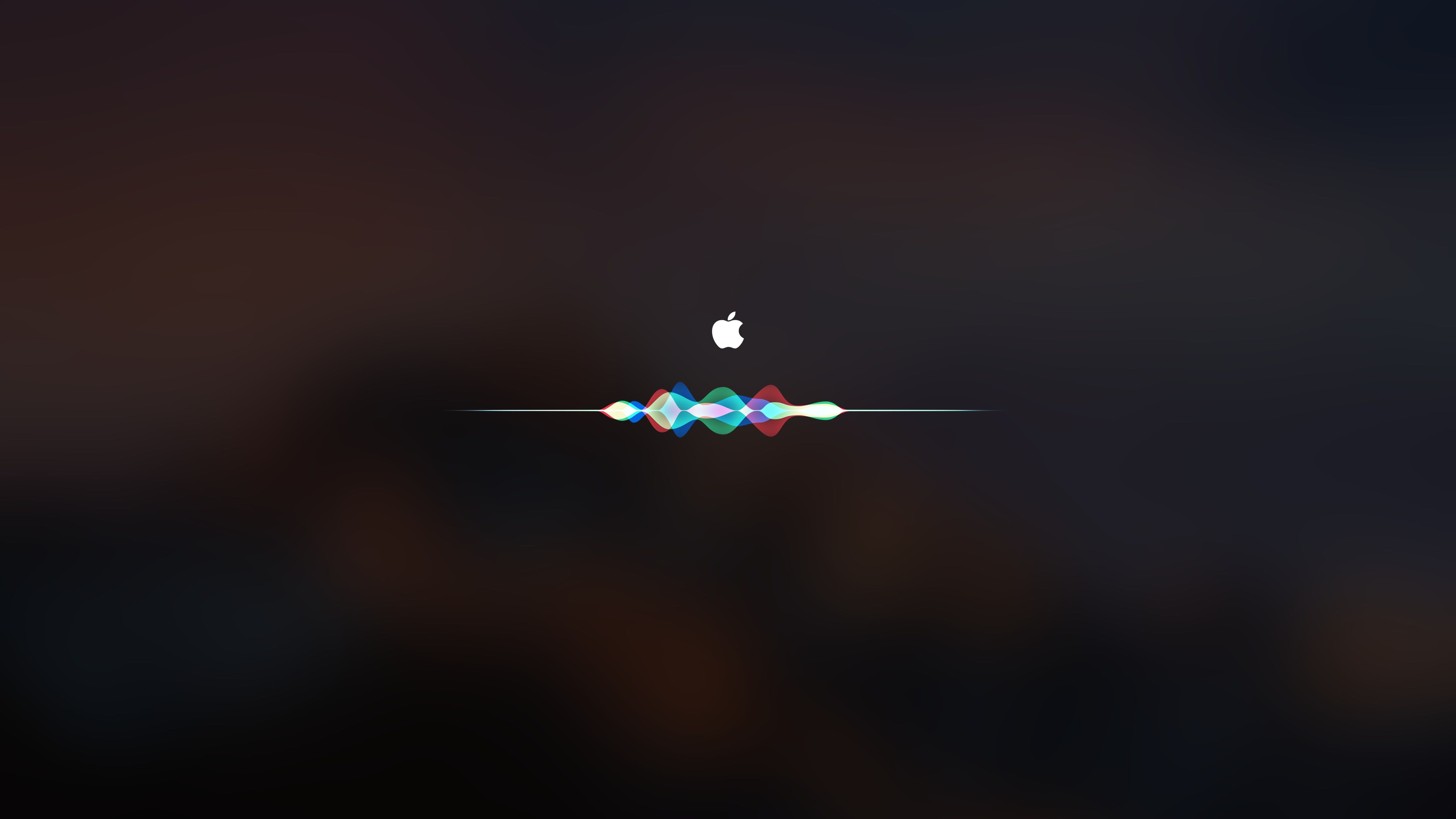 Apple Logo Dark Apple Mac Os X Siri 5k Wallpaper Hdwallpaper Desktop Apple Logo Wallpaper Airplane Wallpaper Iphone Wallpaper Video