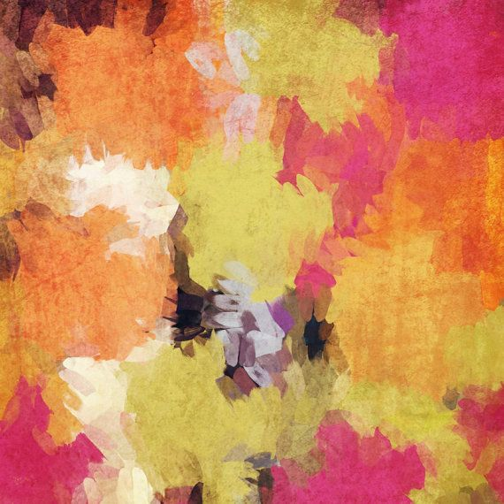 Kaleidoscope N 37-2. Abstract Paintings Art, Wall Decor Extra Large ...