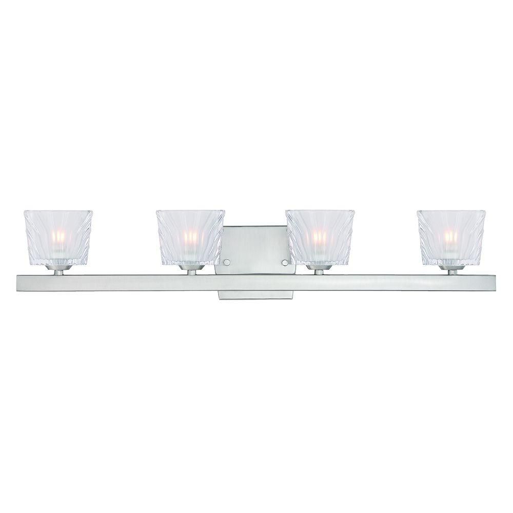 Designers Fountain Volare 4 Light Satin Platinum Interior